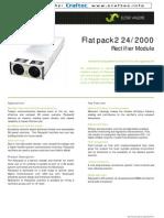 Flatpack2 Rectifier 242000