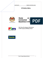 Baseline Study for Grid Emission Factor by PTM-DANIDA