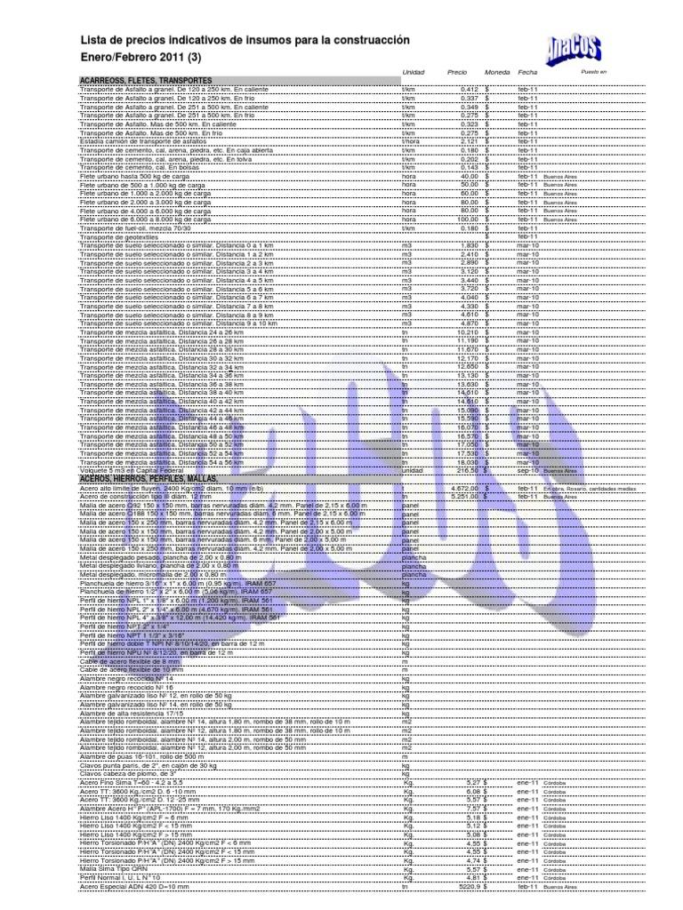 88646256fa1 ListaPreciosInsumos Ene Feb Mar Abr 2011(1)