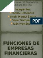 Empresas de Gobierno y Particular