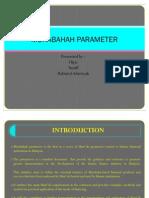 Murabahah Parameter Present