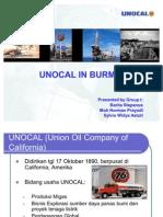 Unocal in Burma - Final