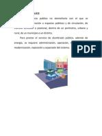 ALUMBRADO PUBLICO