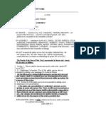 Article X Final Bill