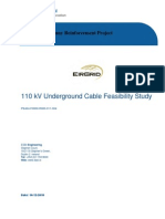 110 kV Underground Cable Feasibility Study