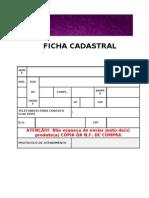 FICHA CADASTRAL LIZZ
