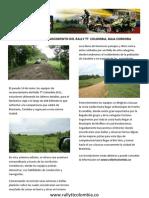 Terminado El Reconocimiento Del Rally Tt Colombia