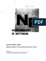 The Radio Chemistry of Neptunium(Np).US AEC