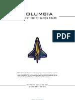 Columbia Accident Investigation Board Volume Three