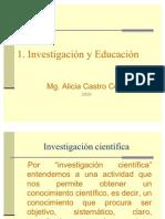 1.INVESTIGACIN Y EDUCACIN