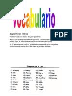 Vocabulario... segmentación silábica
