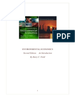 Environmental Economics Summary Ch 1-4