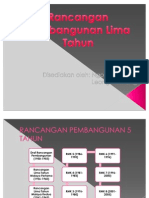 Rancangan Pembangunan Lima Tahun