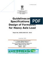 New Rdso Guidelines Hal Nov09