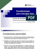 6. Condiciones Para Estudiar Bien
