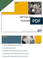 SAP ERP Fast Start Customer Presentation V1