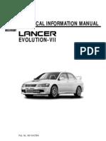 21248071 Mitsubishi Evo Vii Technical Manual