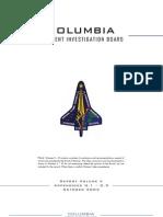 Columbia Accident Investigation Board Volume Five Book One
