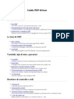 Guida PHP Di Base