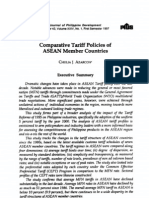 ASEAN_COmparative Tariff Policy