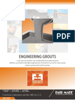 Engineering Grouts
