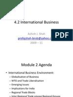 M 2 - International Business - International Business Environment