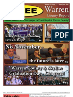 The Late June, 2011 edition of Warren County Report