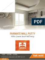 Fairmate Wall Putty