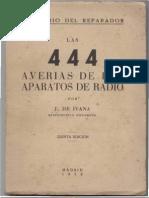 Las 444 Averias de Los Aparatos de Radio j. de Ivana