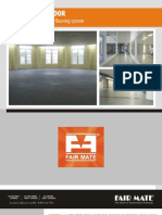 Fairtop Fast Floor - Cementitious Self Levelling Flooring Systems