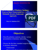 The Evolution of Pituitary Surgery