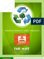 Fairmate Range of Green Products