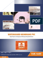 Water Guard Membrane Pvc