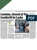 Piazzale Lavater, ricorsi al Tar trasferiti in Lazio. L'Ass. Castellano