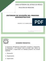 presentacion de criterios