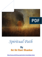 Spiritual Path - Sri Sri Ravi Shankar