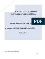 Issues on Free Interest Banking