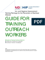 Wash Training Guide for Prevention of Diarrheal Illnesses