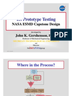 15 Prototype Testing NASA
