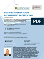 Certified International Procurement Professional_India