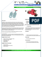 KB14 Valve Types and Application