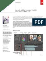 Premiere Pro Cs5 for Final Cut Pro
