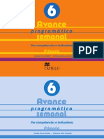 Avance Programatico 6