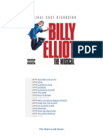 Lyrics for Billy Elliot the Musical (Original London Casting)