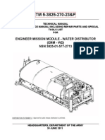 TM 5-3825-270-23P  ENGINEER MISSION MODULE  WATER DISTRIBUTION