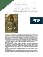 ire pentru Icoana Facatoare de Minuni a Sfantului Ioan Botezatorul ce se afla in a Romaneasca Prodromul din Sfantul Munte Athos