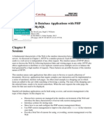 Web Database Applications With PHP Using Sessions