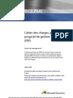 Modèle Cahier des Charges ERP