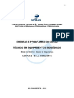Curso Tecnico de Equip Bio Medicos