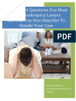 5 Important Questions to Ask BK Lawyer 5 9 2011